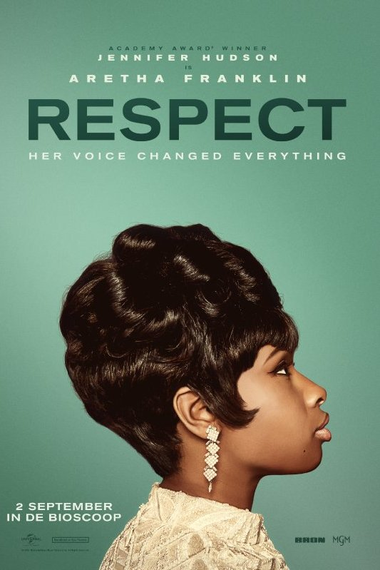 Respect. Jennifer Hudson is Aretha Franklin. Her voice changed everything.