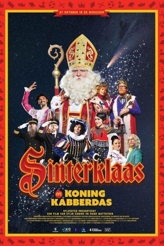 Sinterklaas en Koning Kabberdas.
