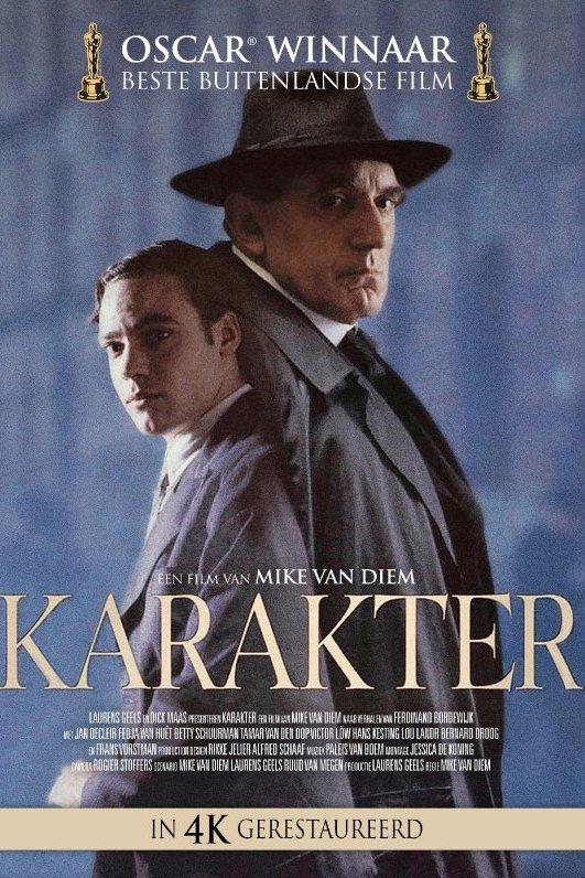 Karakter. Oscarwinnaar Beste Buitenlandse Film. Een film van Mike van Diem. In 4K gerestaureerd.