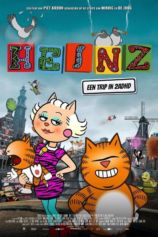 Heinz. Een trip in 2ADHD. Gebaseerd op de strips van Windig en De Jong.