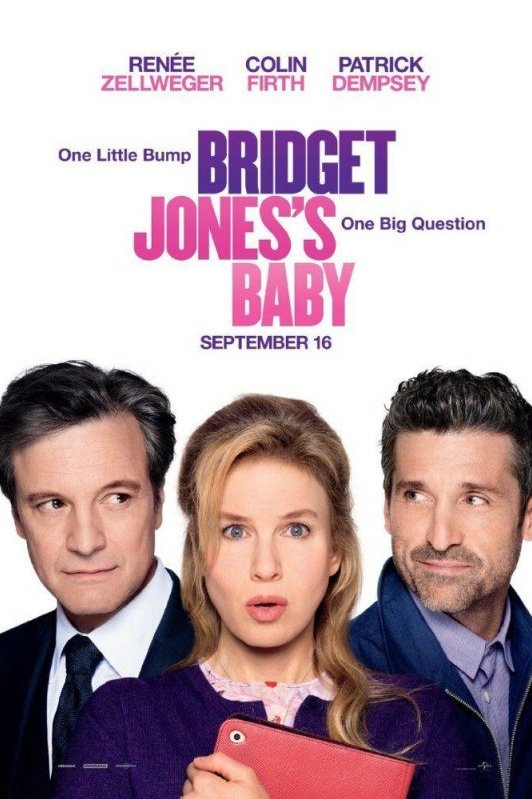 Bridget Jones's Baby. One Little Bump, One Big Question.