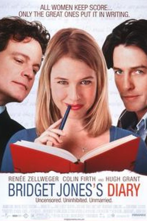 Bridget Jones's Diary. Uncensored, Uninhibited, Unmarried. All women keep score... Only the great ones put it in writing.