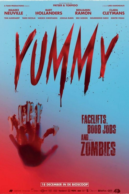 Yummy. Facelifts, boob jobs and... zombies.