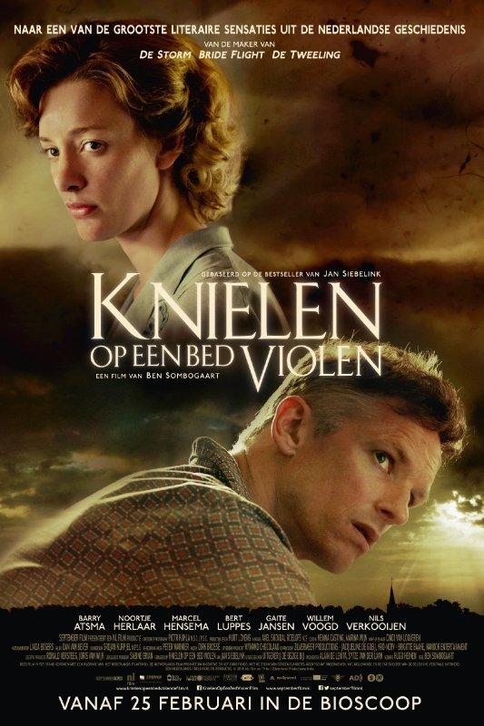 Naar een van de grootste literaire sensaties uit de Nederlandse geschiedenis. Knielen op een bed violen. Vanaf 25 februari in de bioscoop.
