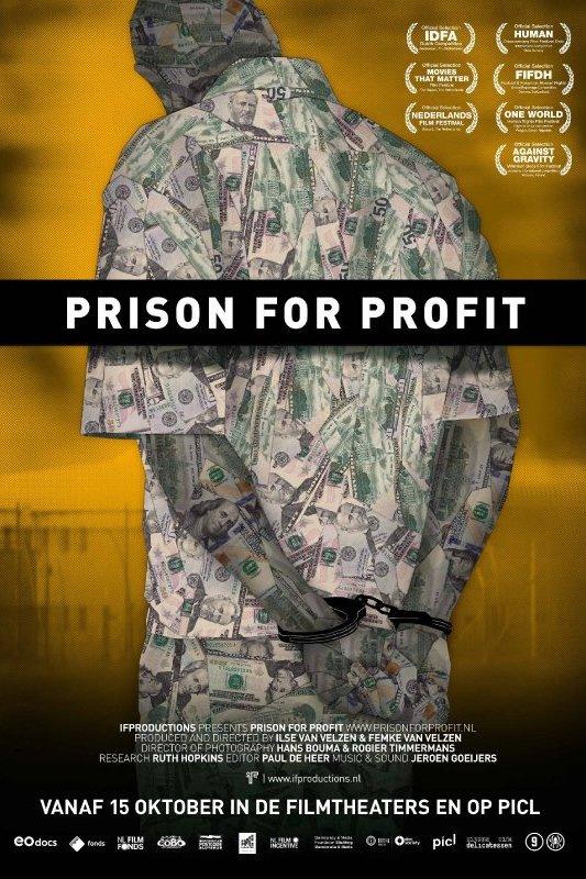 Prison for Profit. Vanaf 15 oktober in de filmtheaters en op Picl.