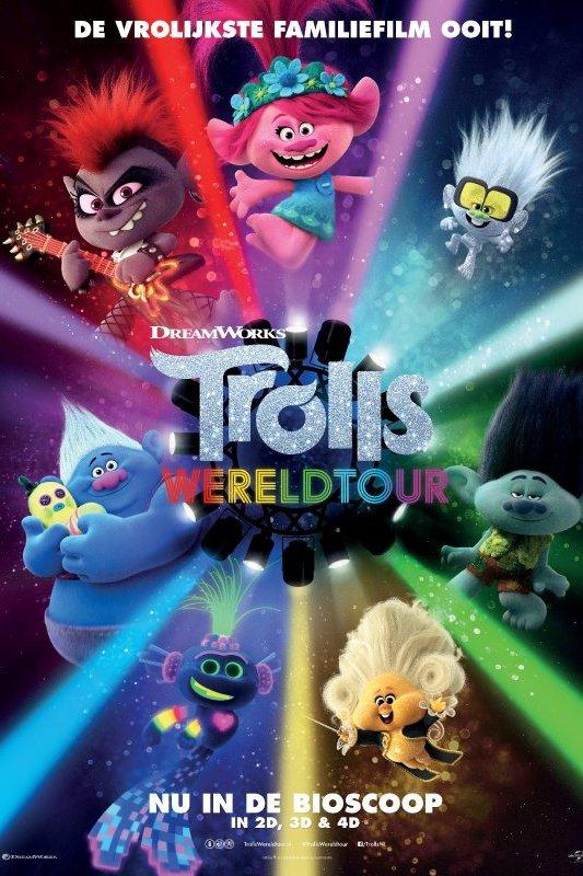 Trolls Wereldtour. De vrolijkste familiefilm ooit!