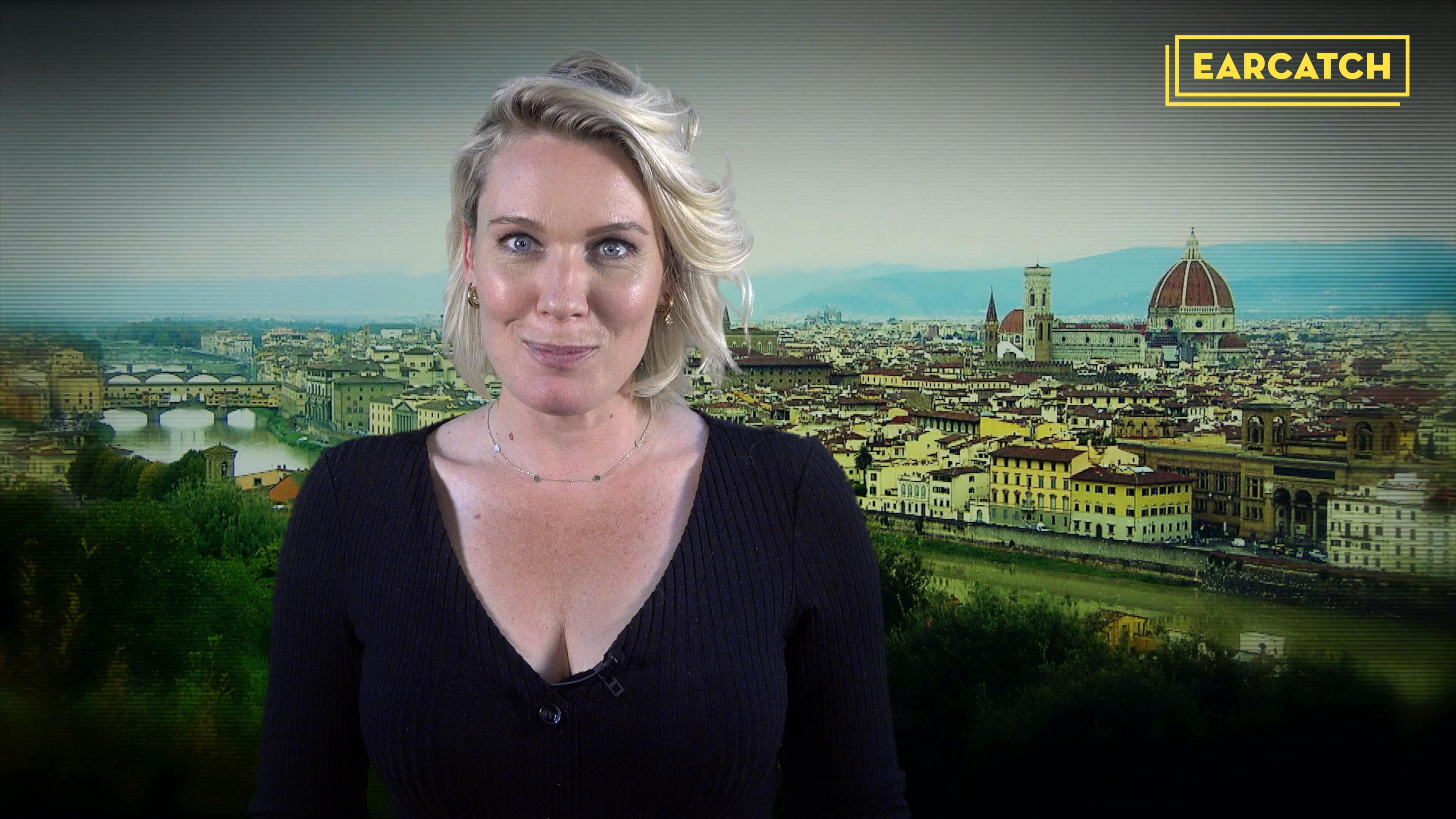 Video: Marlijn Weerdenburg over Wie is de Mol? met audiodescriptie.