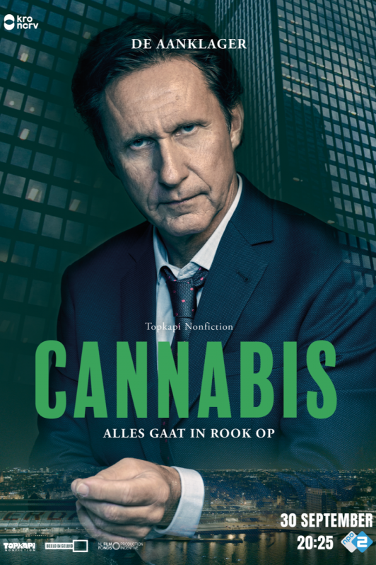 Cannabis. Alles gaat in rook op. 30 september 20:25 NPO 2.
