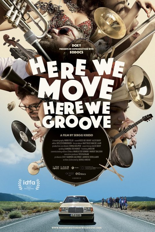 Here We Move, Here We Groove.