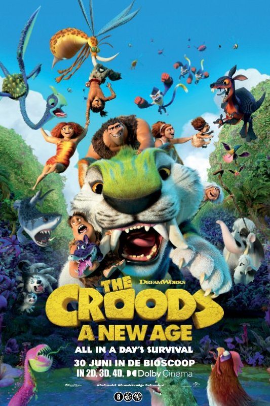The Croods: A New Age. All in a day's survival.